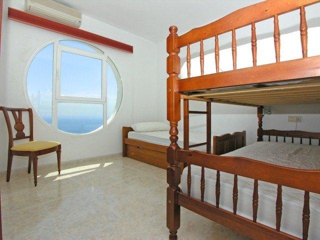 Wohnung zu verkaufen in Benitachell, Panoramablick auf das Meer.