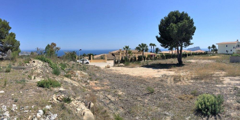 Blick auf das Meer Grundstücke zum Verkauf in Teulada, Koma Dels Frailes
