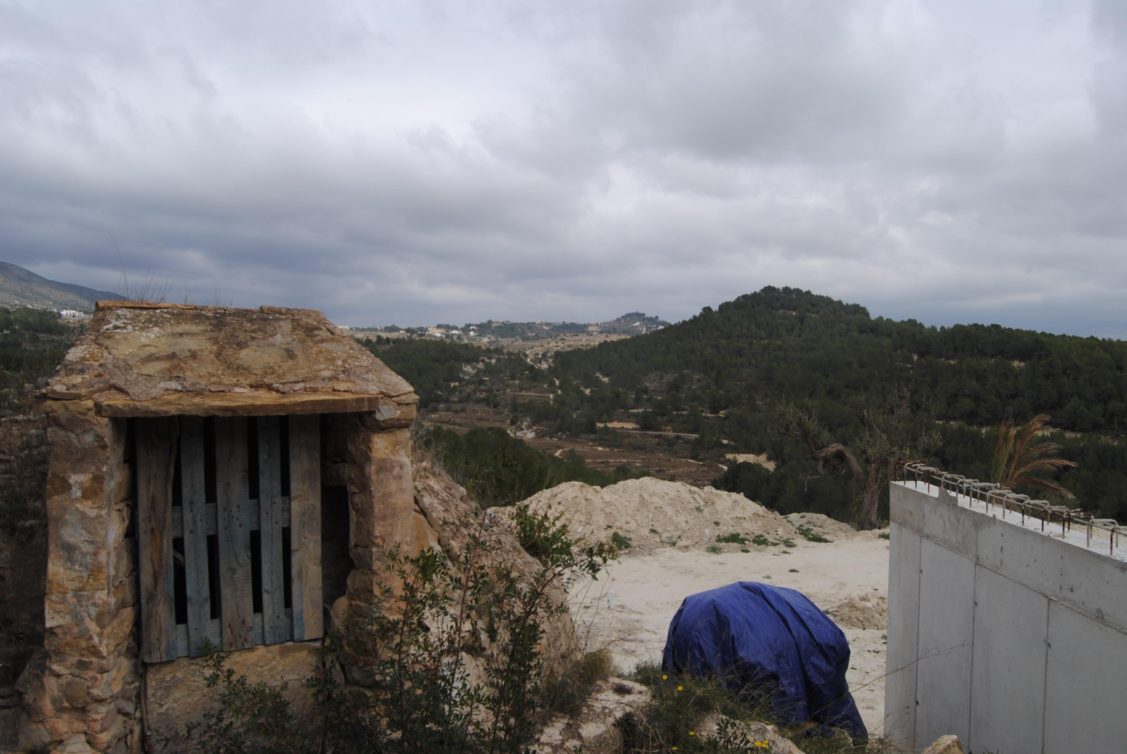 Grundstück mit Gebäude Berechtigungen in Benissa zu verkaufen