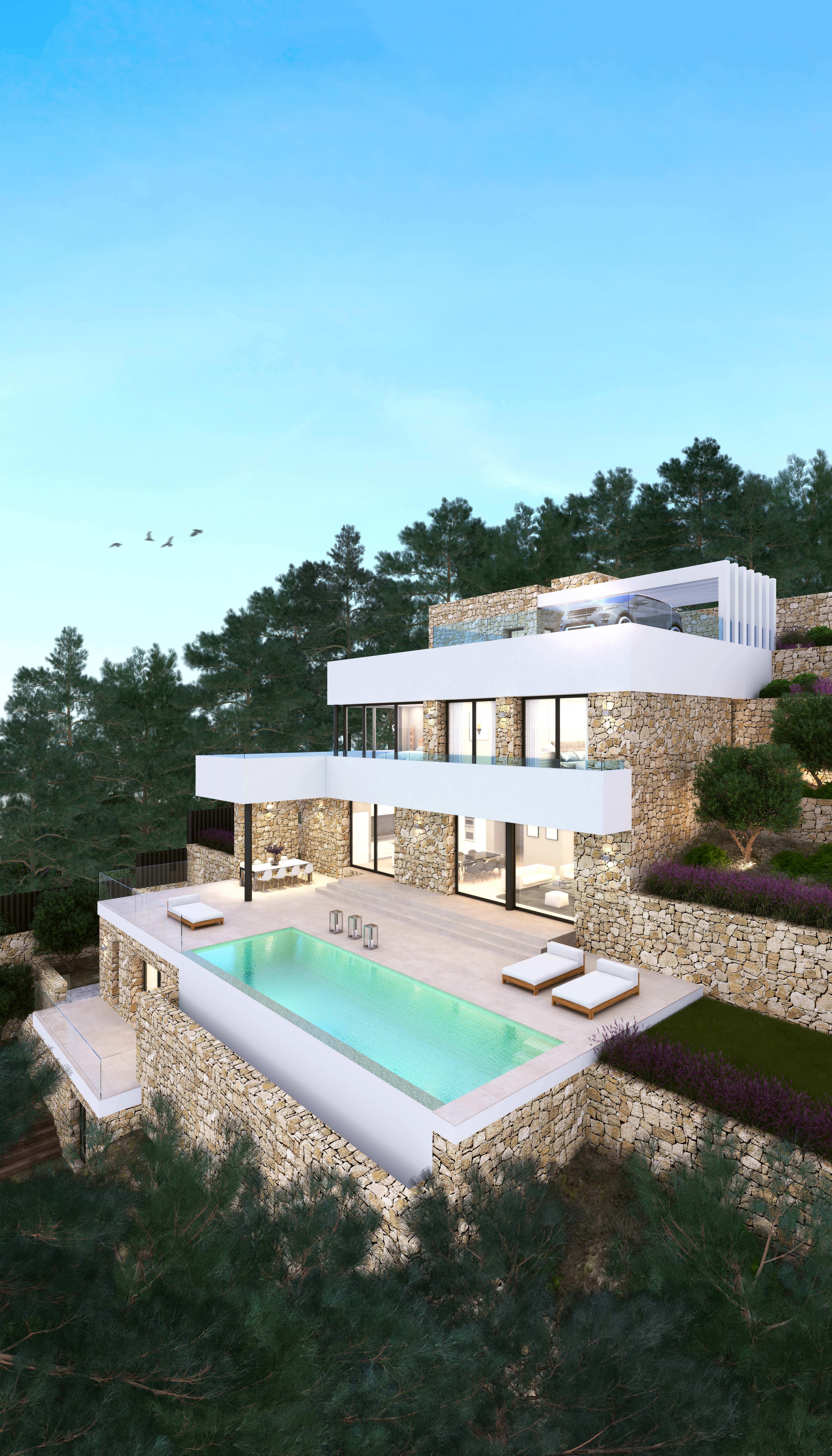 Projekt zum Verkauf in Moraira