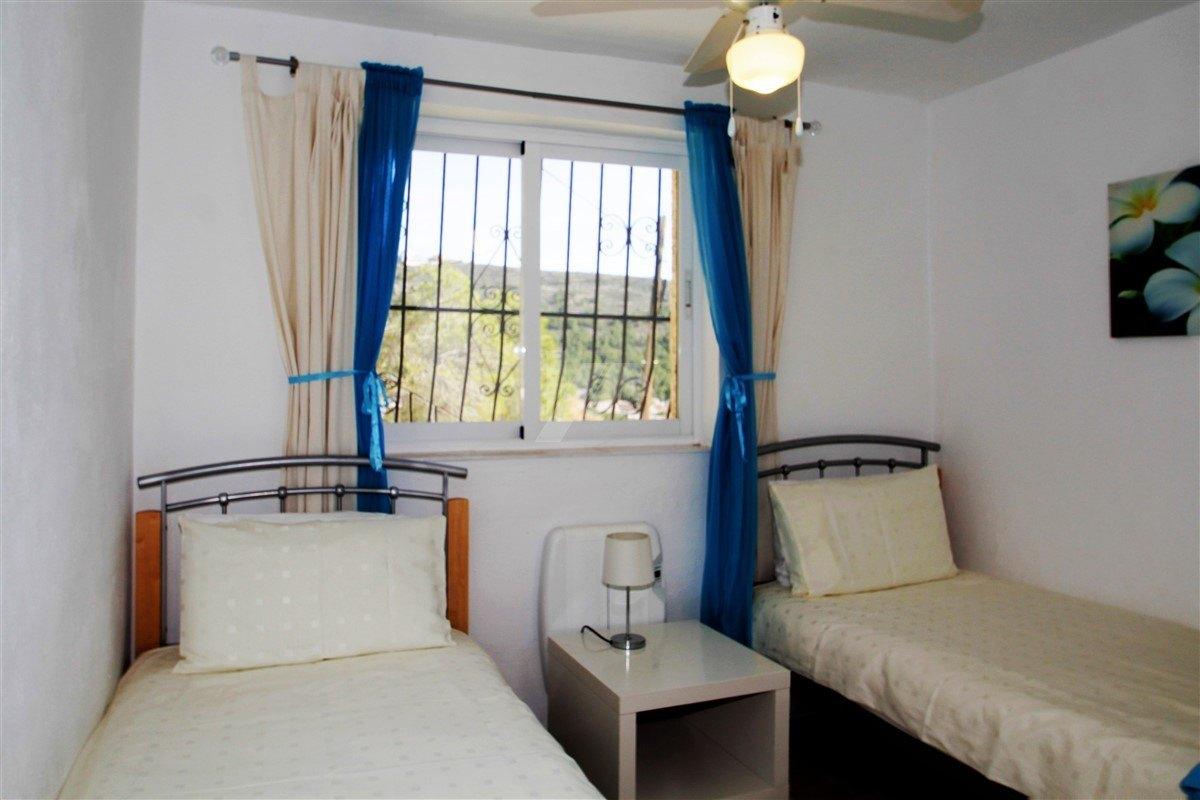 Meer Blick auf Villa zum Verkauf in Moraira