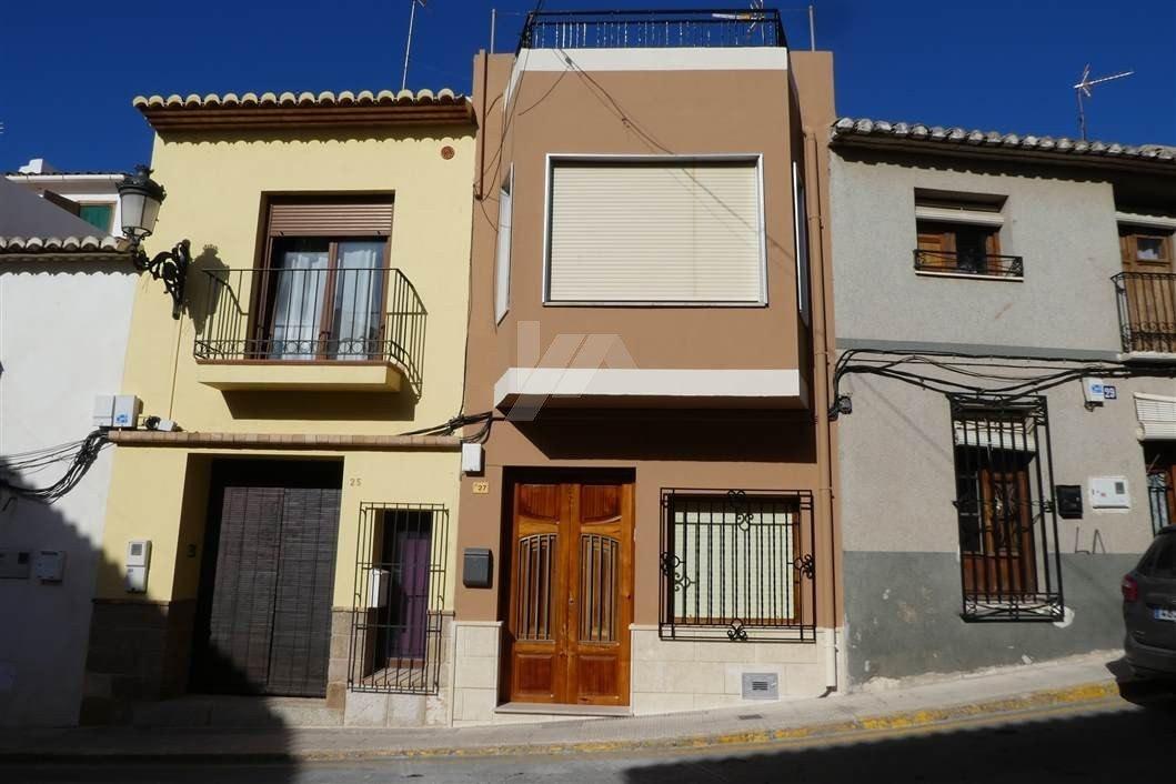 Reihenhaus zum Verkauf in Teulada-Moraira, Costa Blanca.