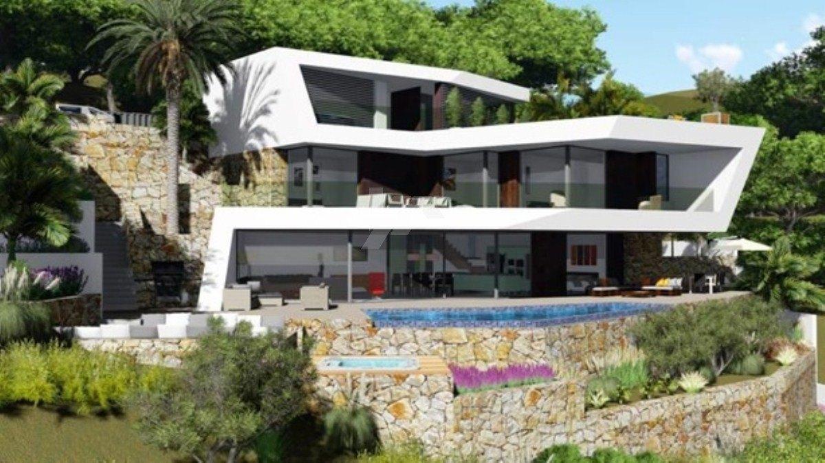 Luxuriöses Hotel mit Meerblick in Benissa, Costa Blanca.