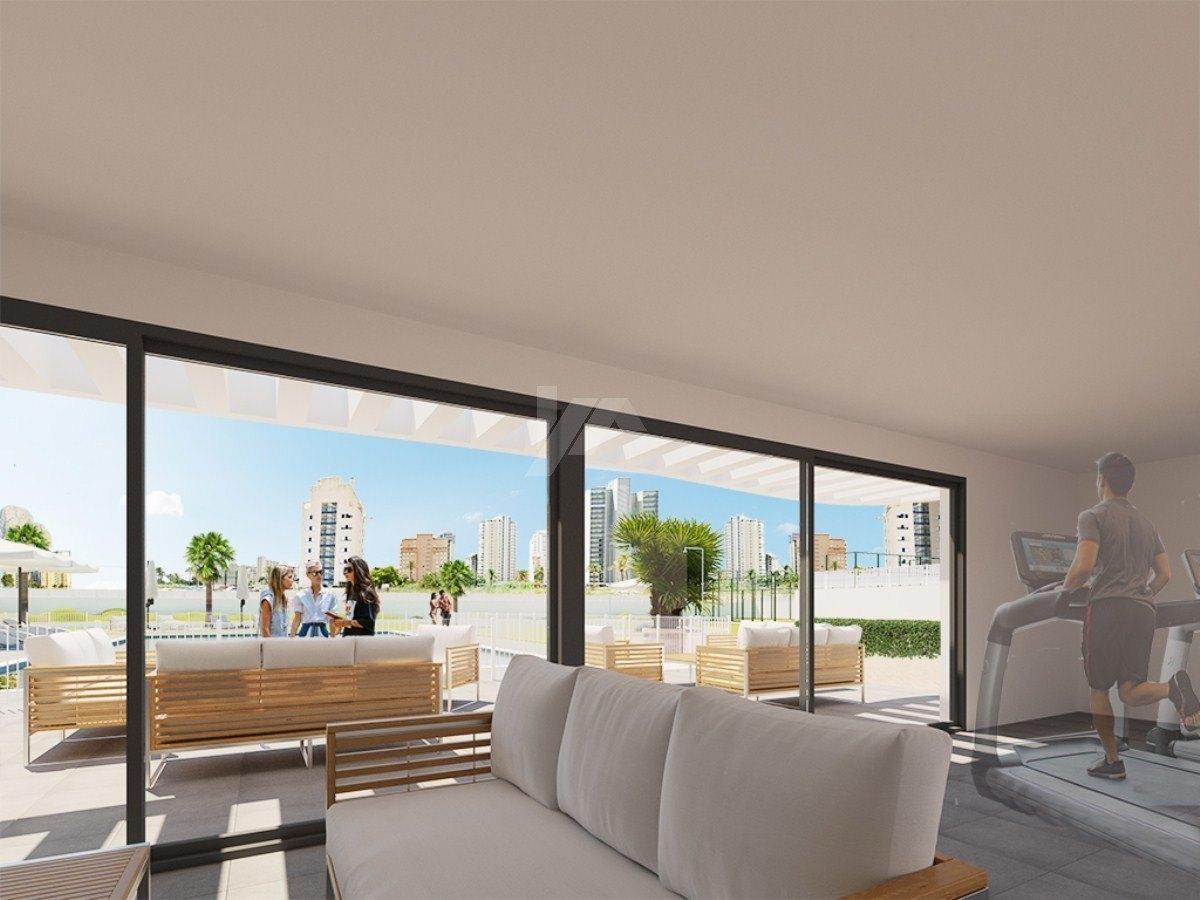 Wohnung mit Meerblick zum Verkauf in Calpe, Costa Blanca.