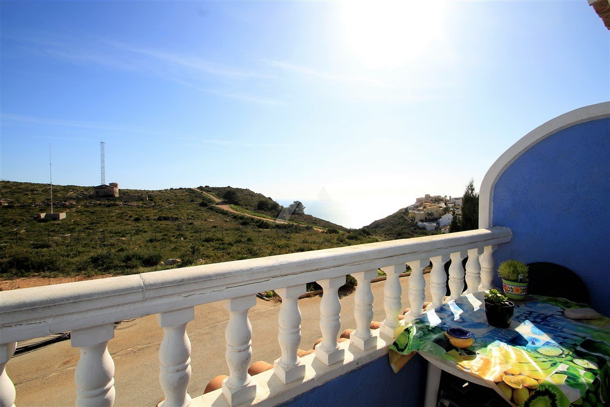 Wohnung mit Meerblick zum Verkauf in Benitachell, Costa Blanca.