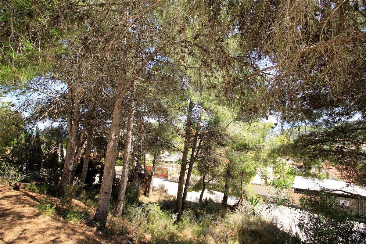 Grundstück mit Meerblick zum Verkauf in Benissa, Costa Blanca.