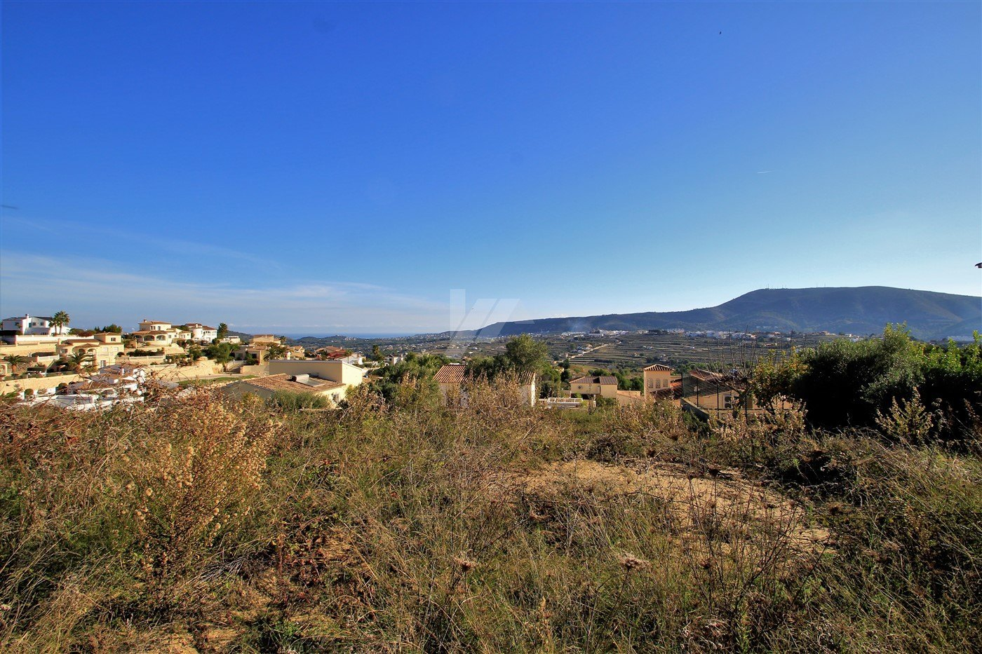 Grundstück mit Meerblick zum Verkauf in Benitachell, Costa Blanca.