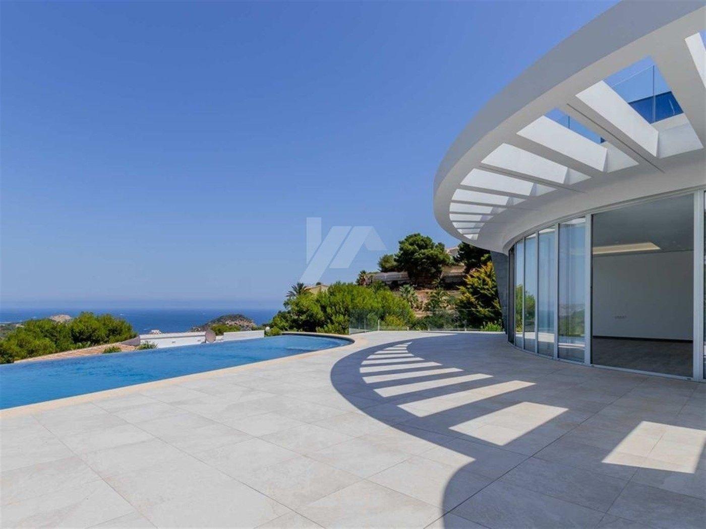 Meerblick Neubau Villa zum Verkauf in Javea, Costa Blanca.