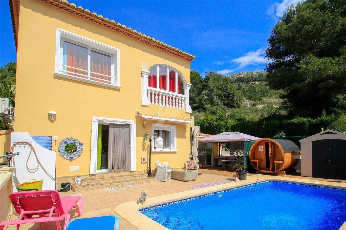Villa zu verkaufen in Benitachell, Costa Blanca.