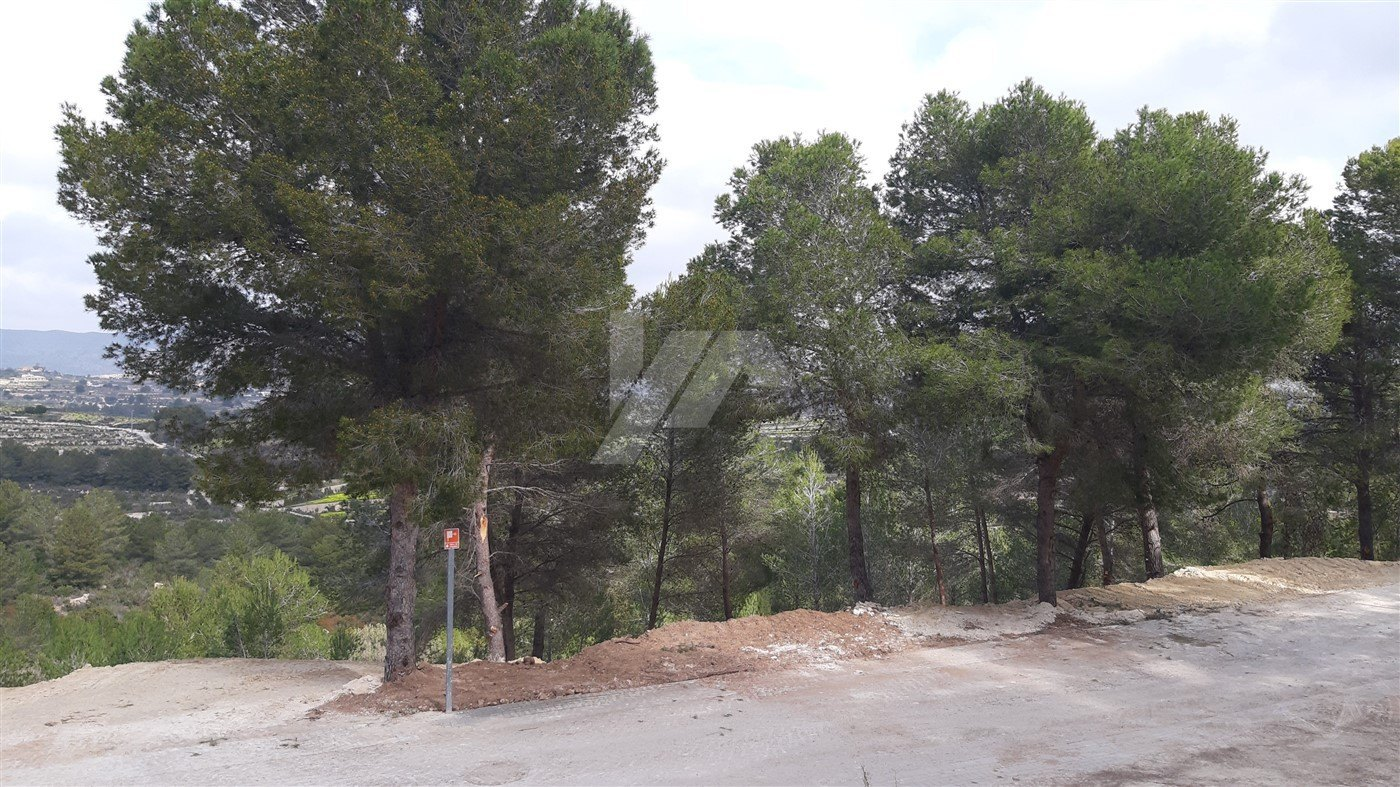 Grundstück zum verkauf in Moraira, Costa Blanca.