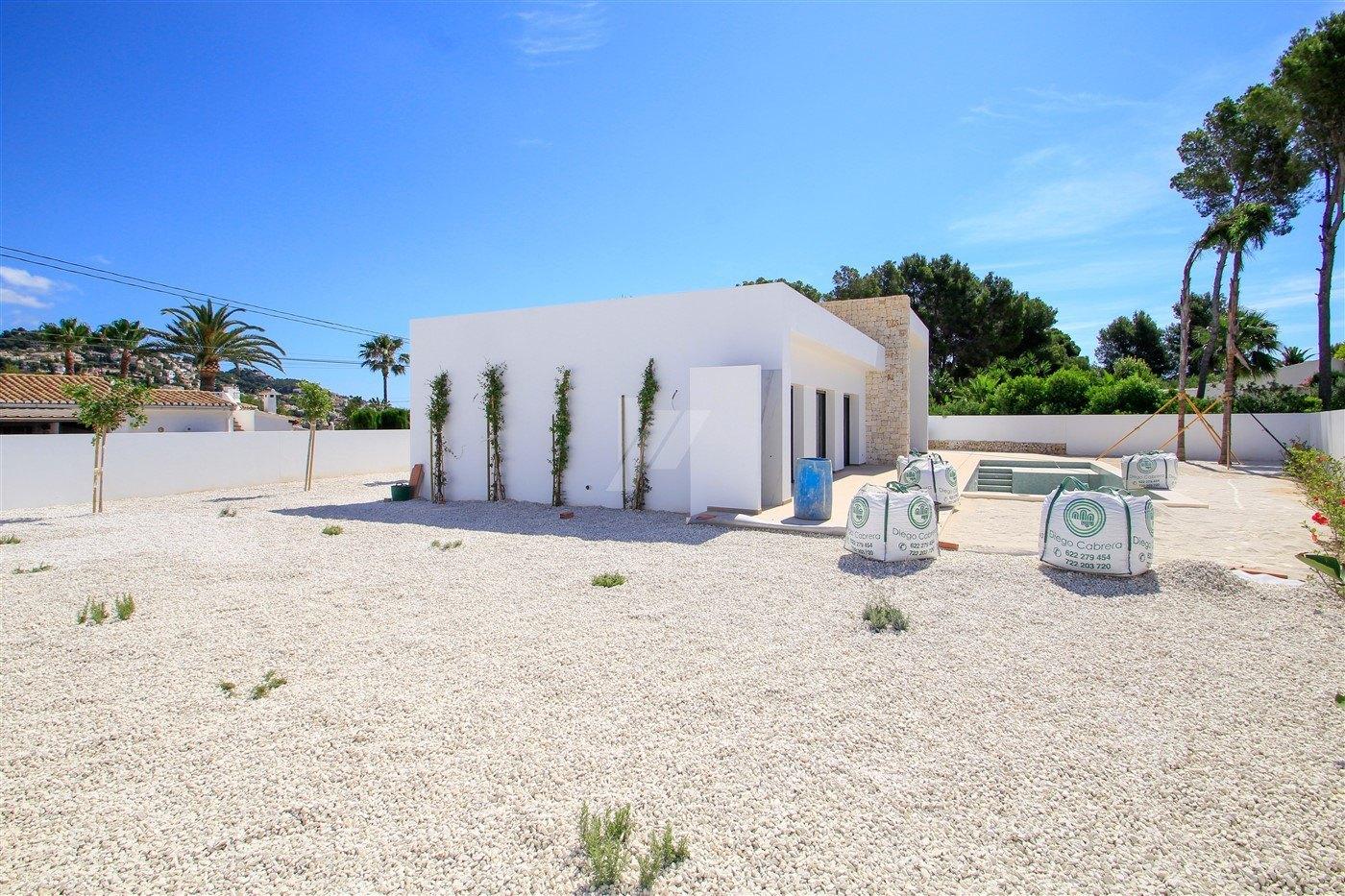 Moderne Villa zum Verkauf in Benissa, Costa Blanca.