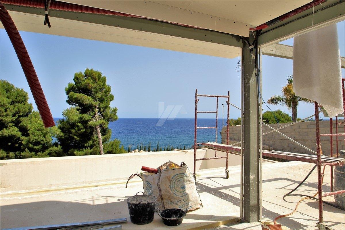 Villa mit Meerblick zu verkaufen in Benissa, Costa Blanca.