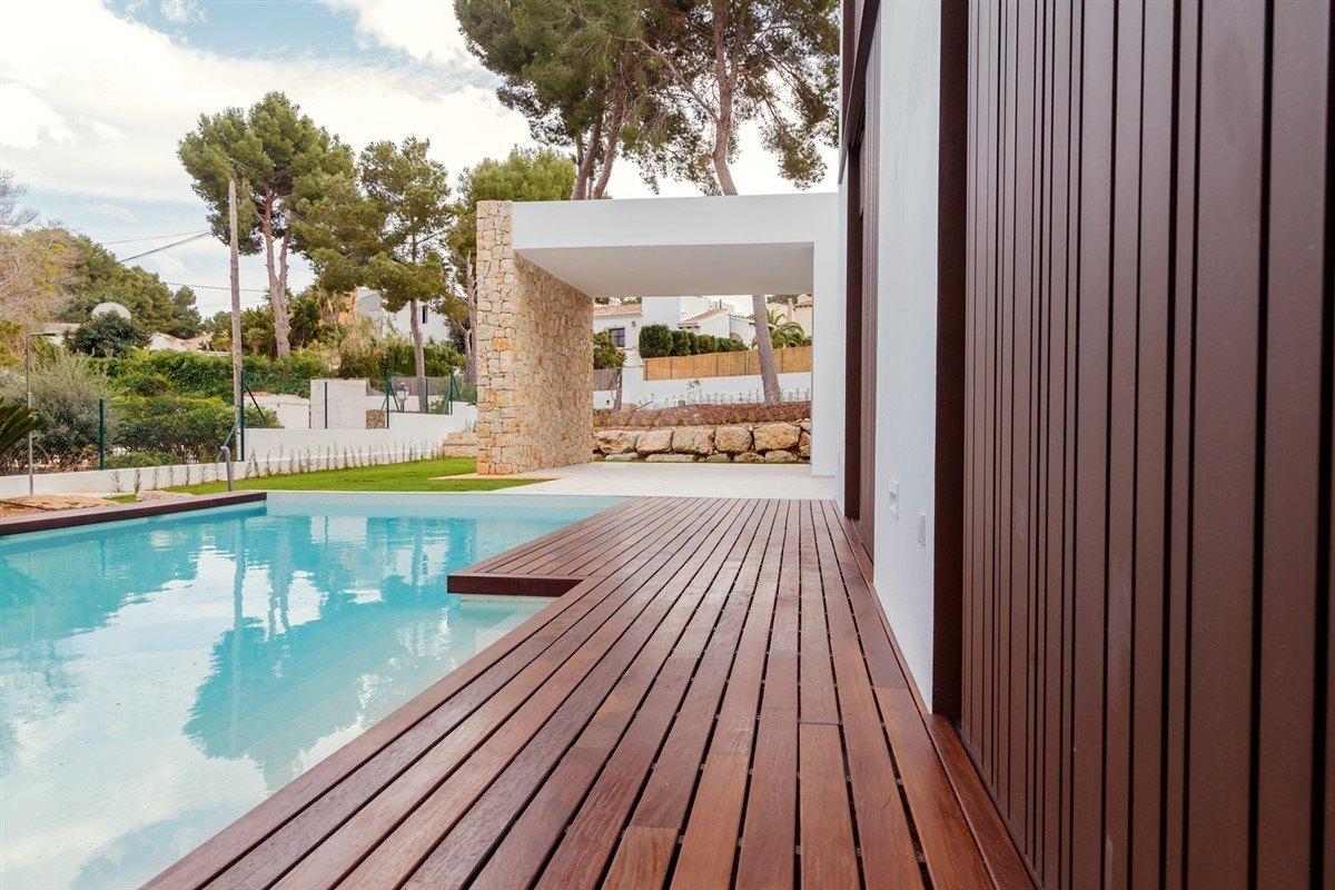 Luxus Neubauvilla zum Verkauf in Moraira, Costa Blanca.