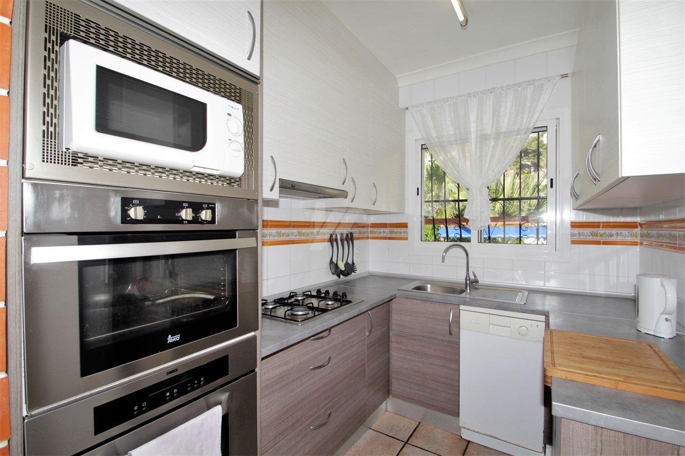 Villa zum Verkauf in Moraira, offenen Blick.