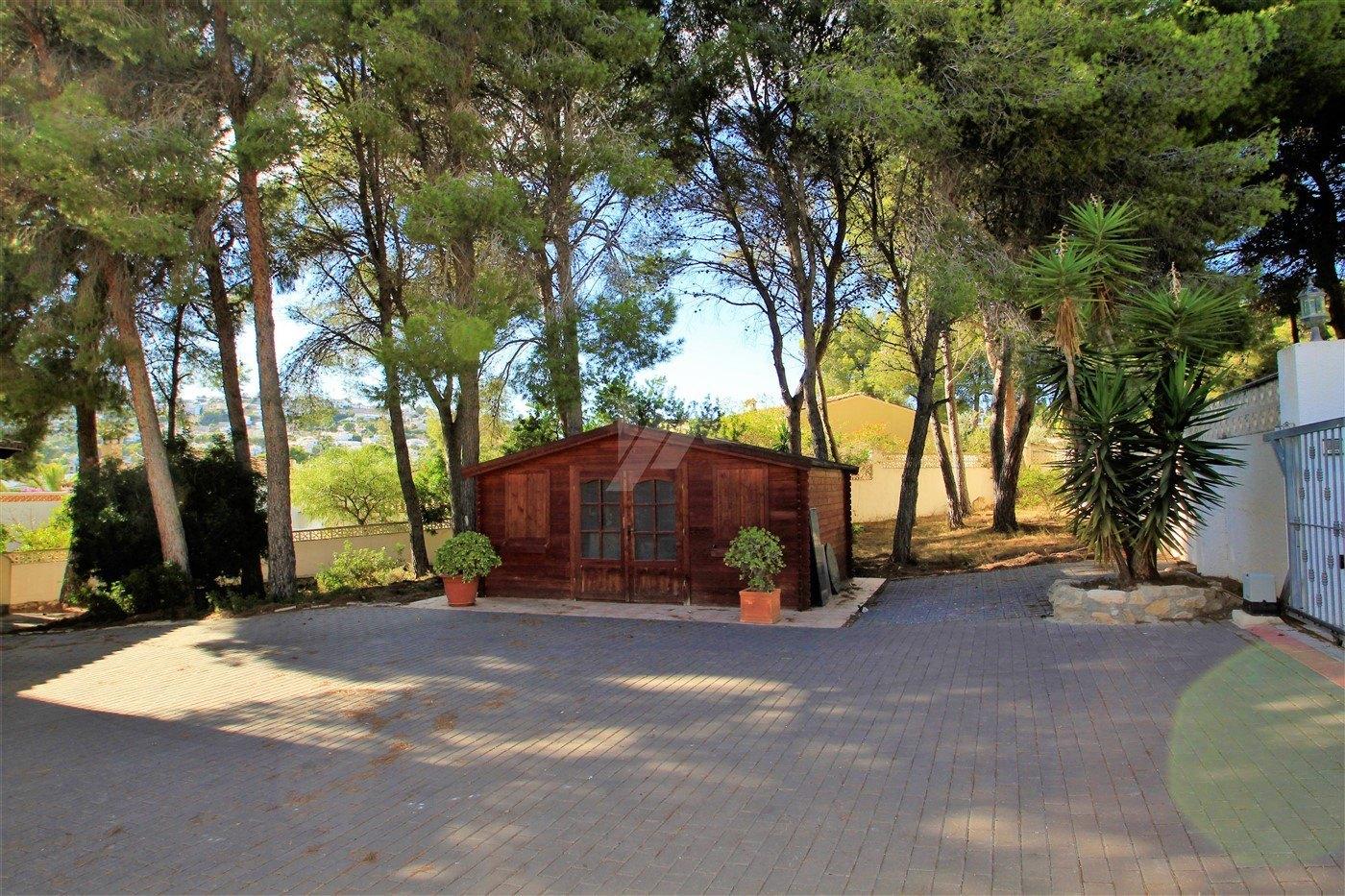 Makellose Villa zu verkaufen in Moraira, Costa Blanca.